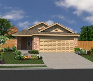 The Charlotte - Summerhill: Converse, Texas - Bella Vista Homes