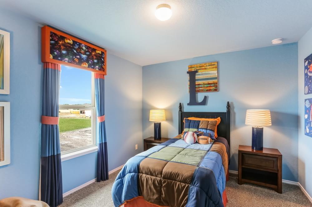 Bedroom featured in The Brenham By Bella Vista Homes in San Antonio, TX