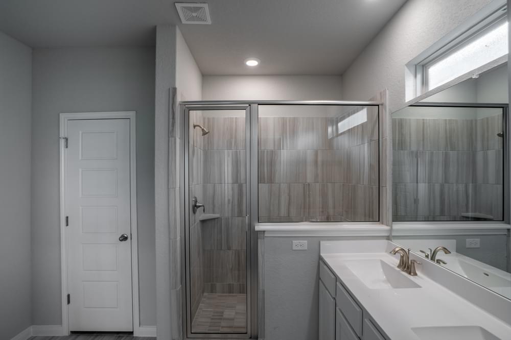 Bathroom featured in The Chandler By Bella Vista Homes in San Antonio, TX