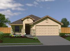 The Brentwood - Meyer Ranch: New Braunfels, Texas - Bella Vista Homes