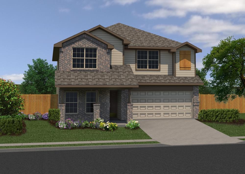 Exterior featured in The Summit By Bella Vista Homes in San Antonio, TX