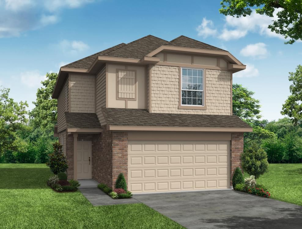 Exterior featured in The Sequoia By Bella Vista Homes in San Antonio, TX
