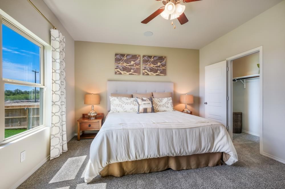 Bedroom featured in The Bertram By Bella Vista Homes in San Antonio, TX