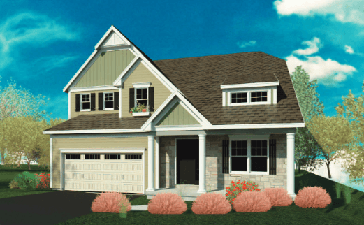 Exterior featured in the Pickwick By Belmonte Builders in Albany-Saratoga, NY