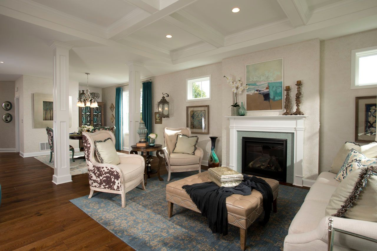 Living Area featured in the Fallgate By Belmonte Builders in Albany-Saratoga, NY