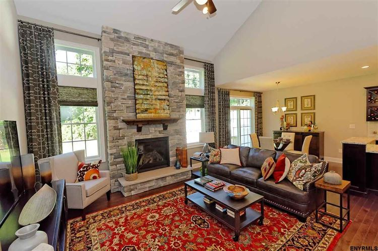 Living Area featured in the Ashford By Belmonte Builders in Albany-Saratoga, NY
