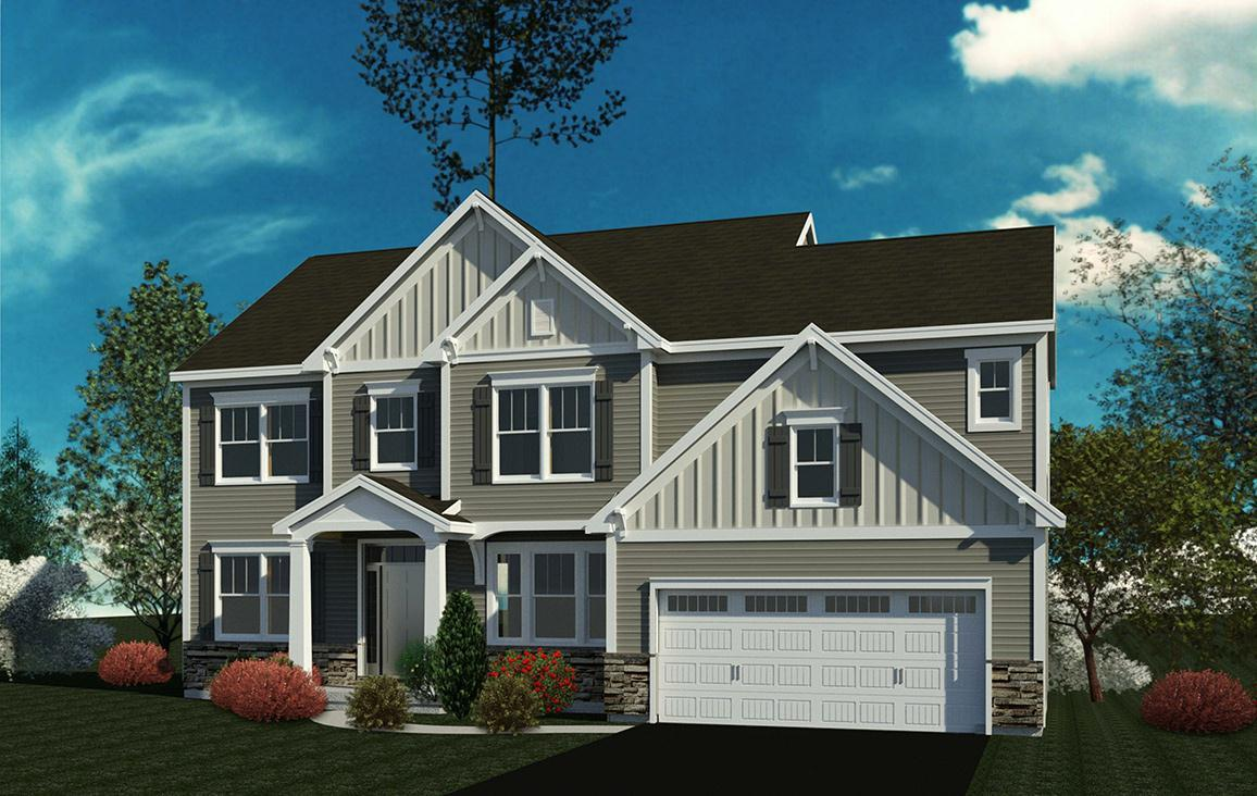 Exterior featured in the Stockdale By Belmonte Builders in Albany-Saratoga, NY