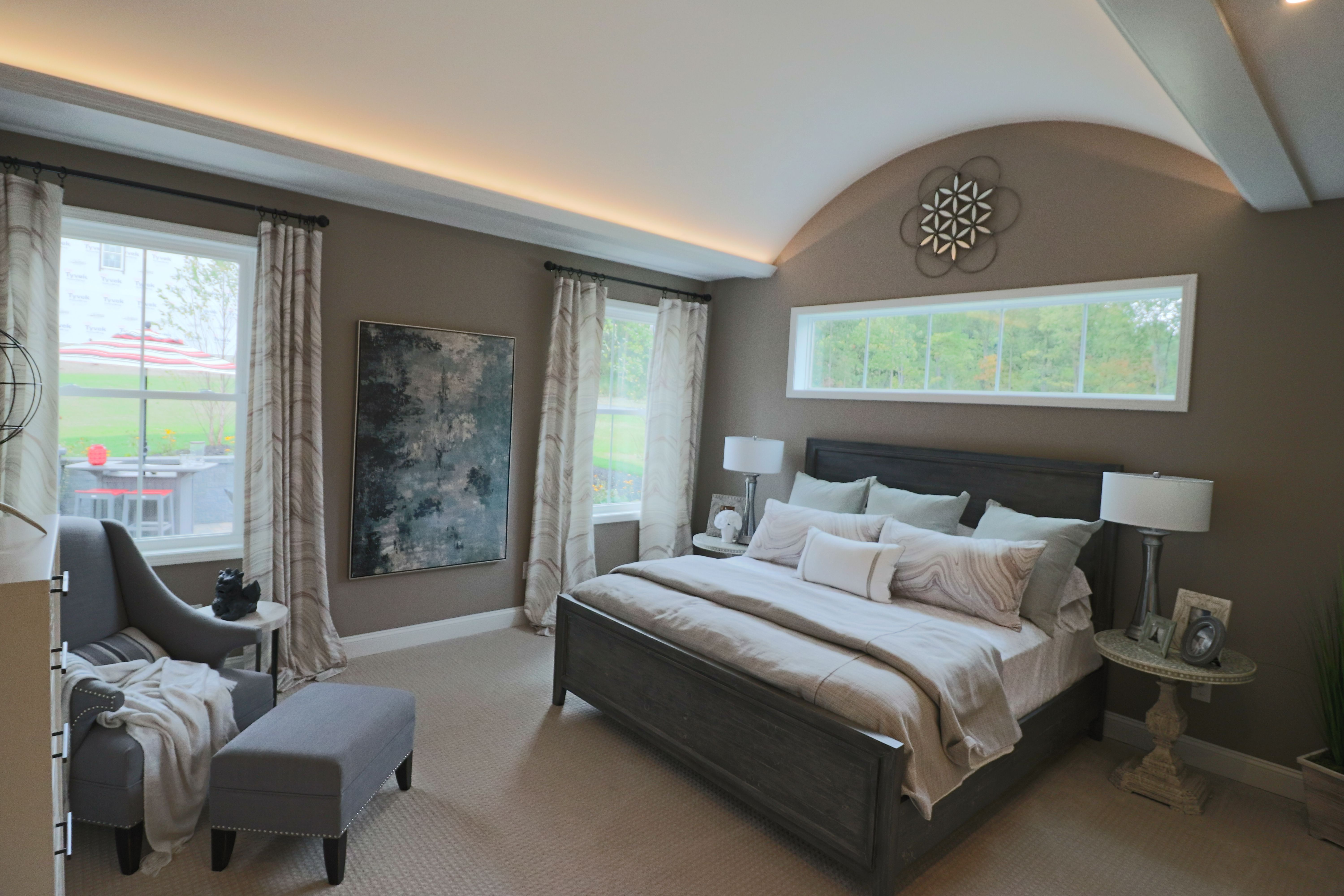 Bedroom featured in the Fallgate By Belmonte Builders in Albany-Saratoga, NY