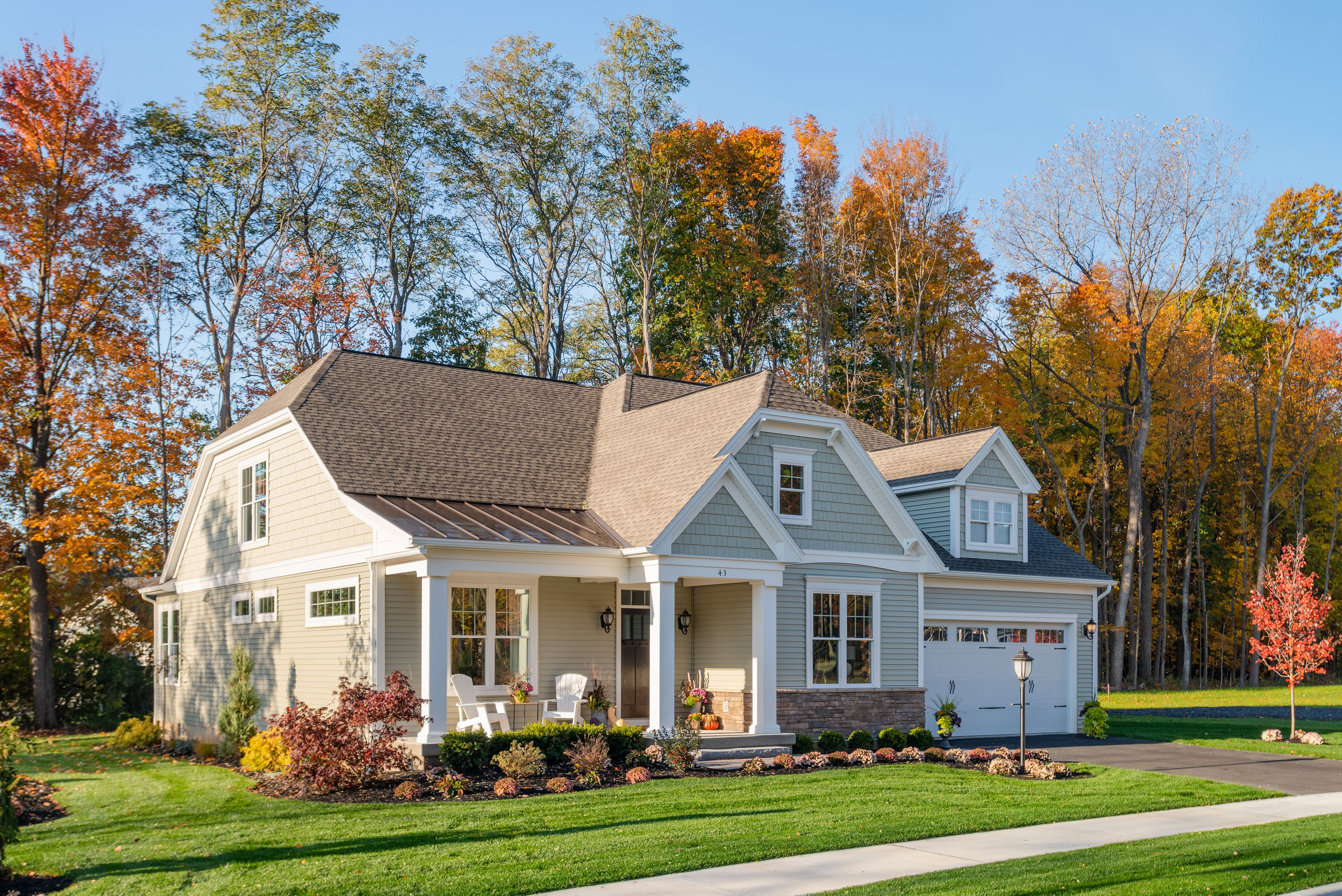 Exterior featured in the Weston II By Belmonte Builders in Albany-Saratoga, NY