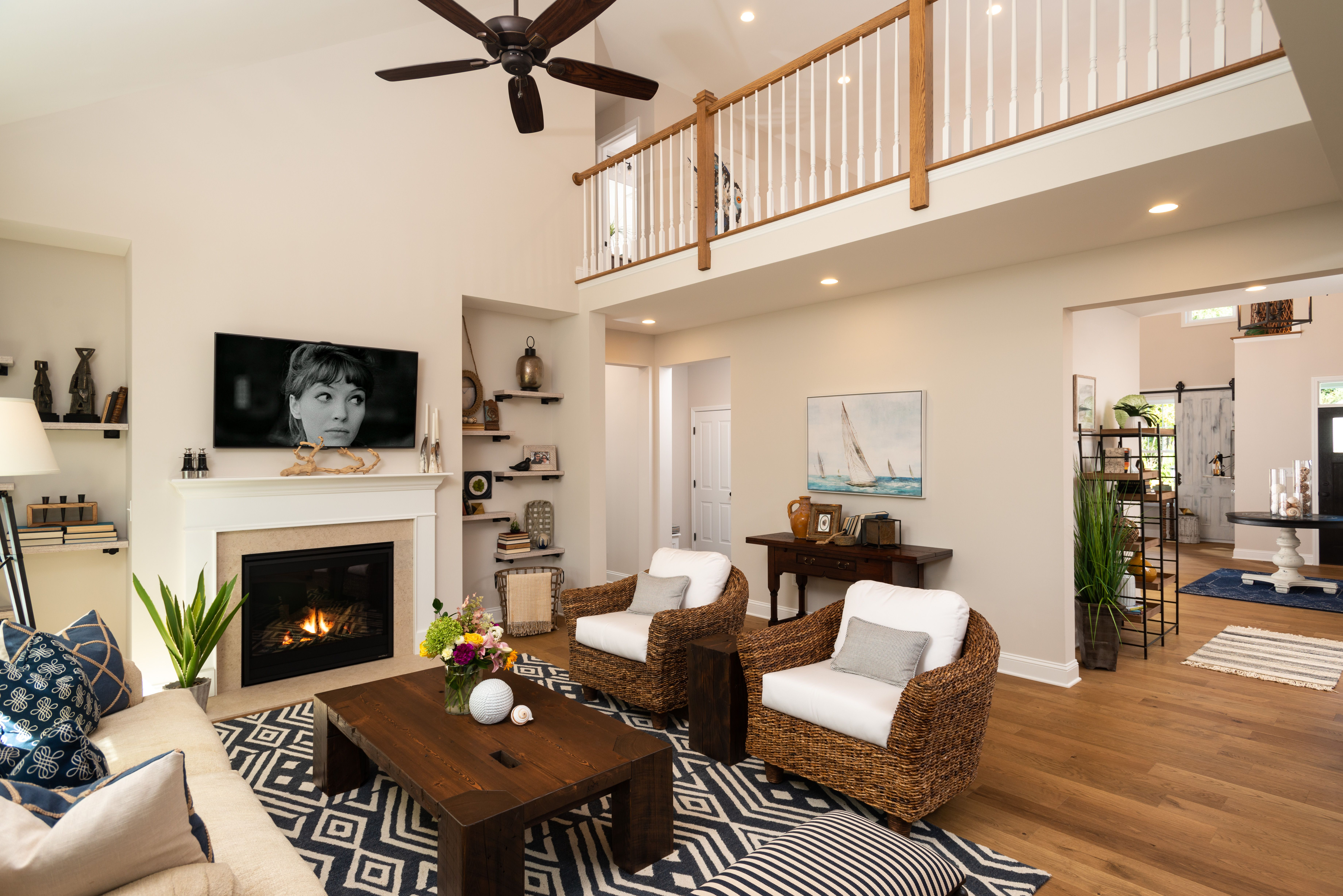 Living Area featured in the Weston By Belmonte Builders in Albany-Saratoga, NY