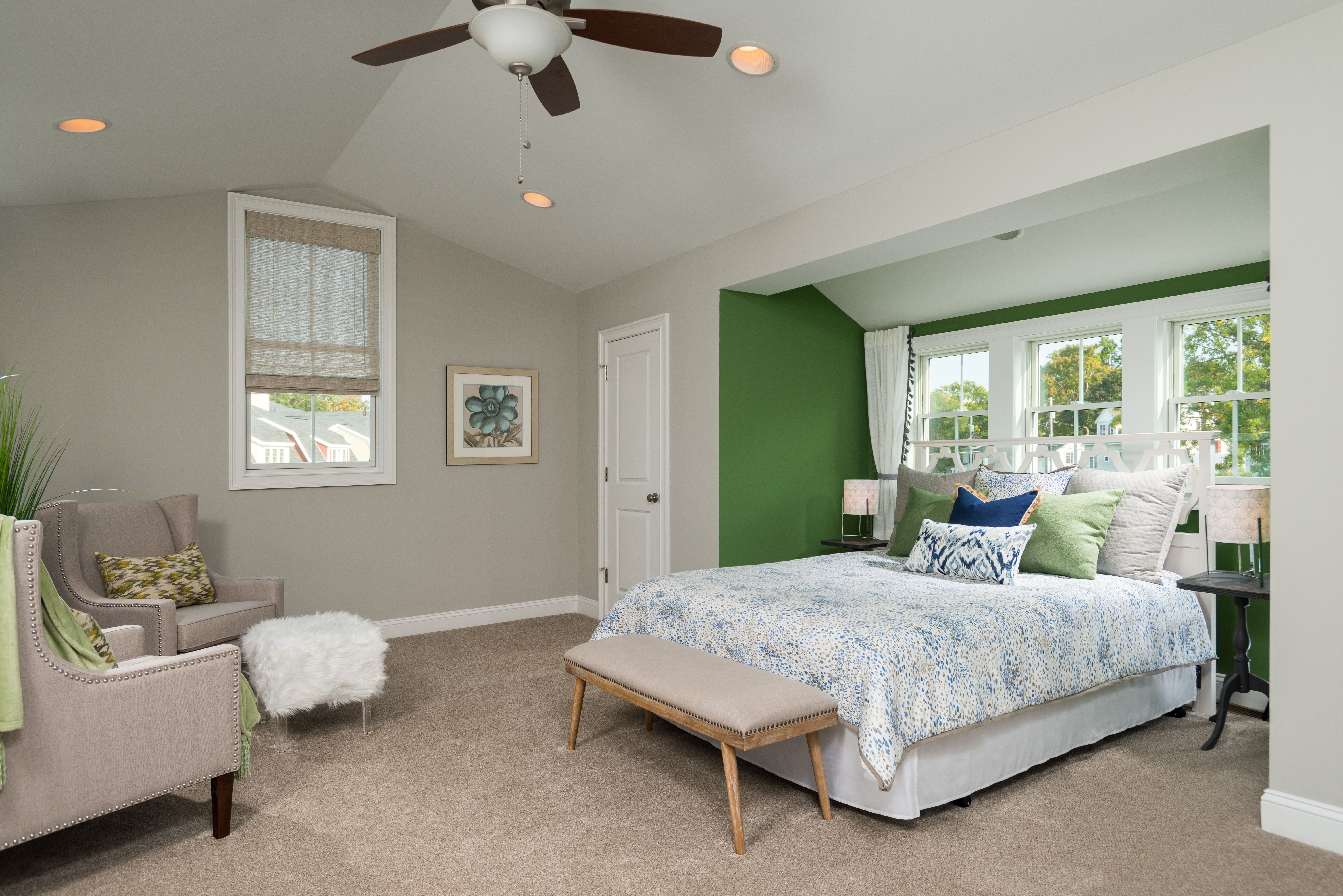 Bedroom featured in the City Square Townhome By Belmonte Builders in Albany-Saratoga, NY
