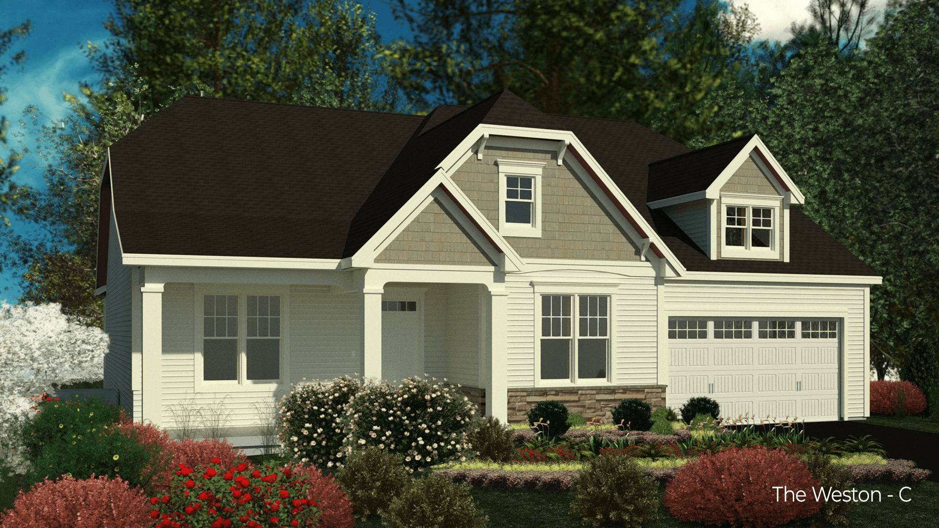 Exterior featured in the Weston By Belmonte Builders in Albany-Saratoga, NY