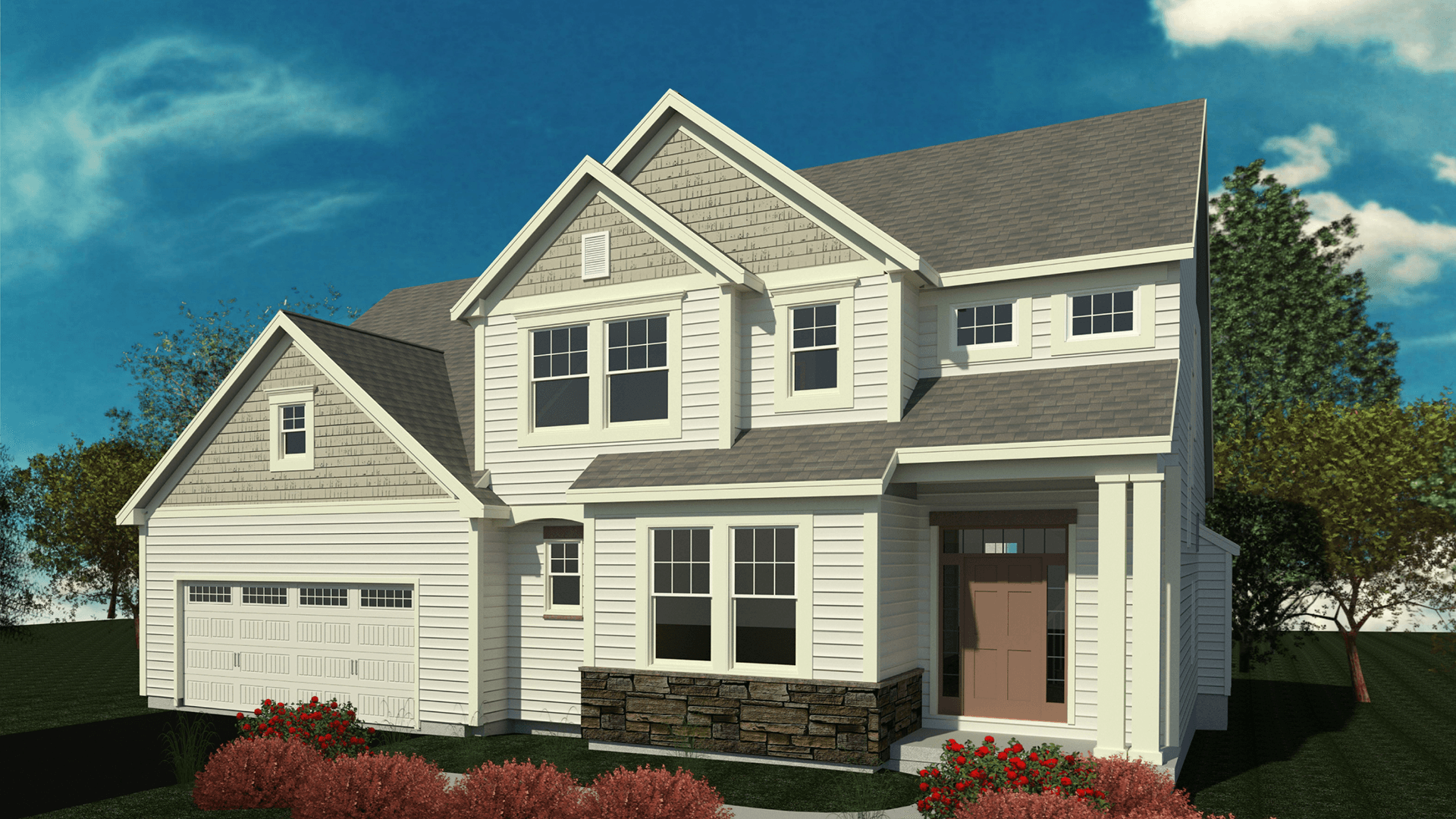Exterior featured in the Chesapeake By Belmonte Builders in Albany-Saratoga, NY