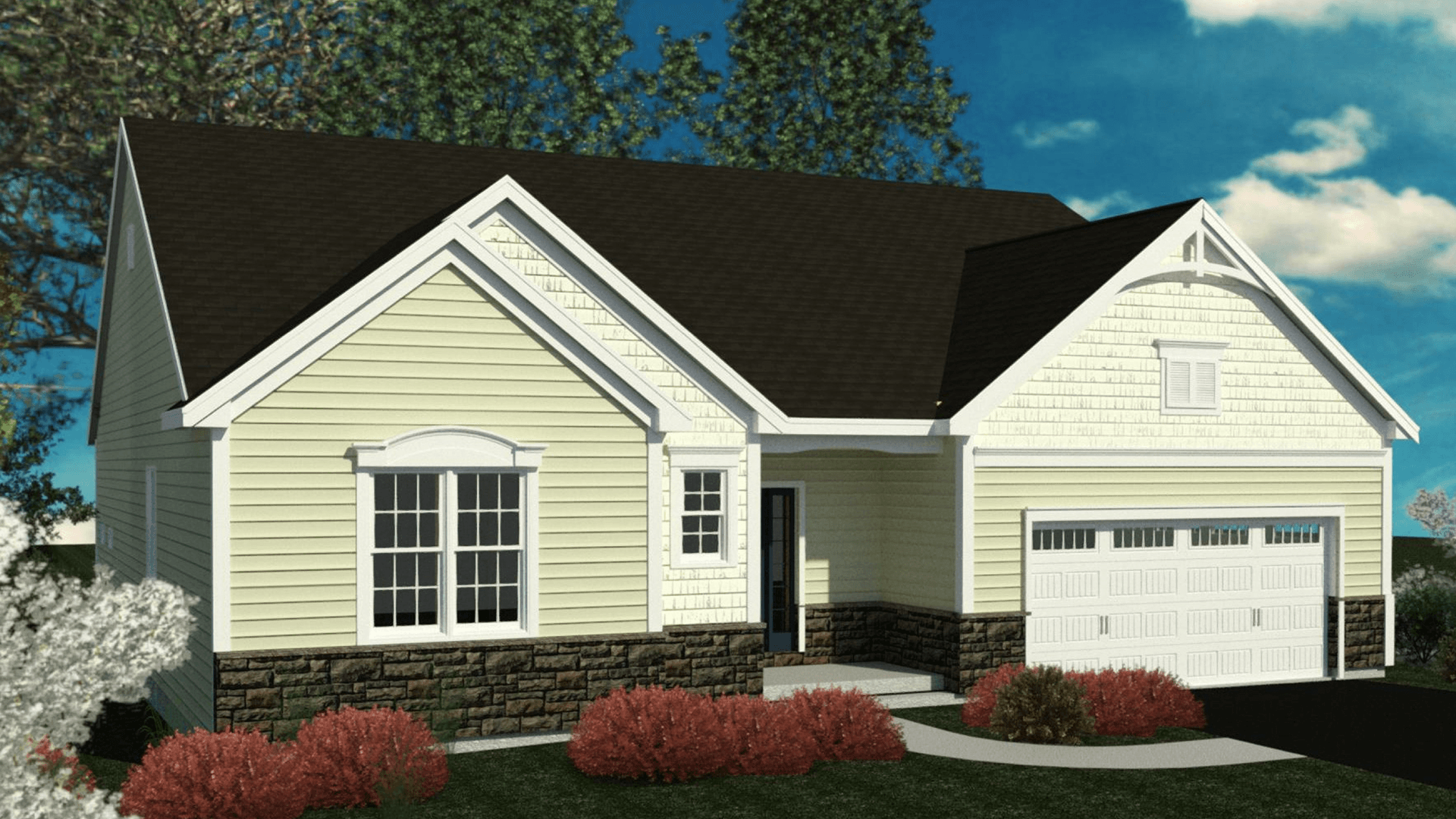 Exterior featured in the Newlin By Belmonte Builders in Albany-Saratoga, NY