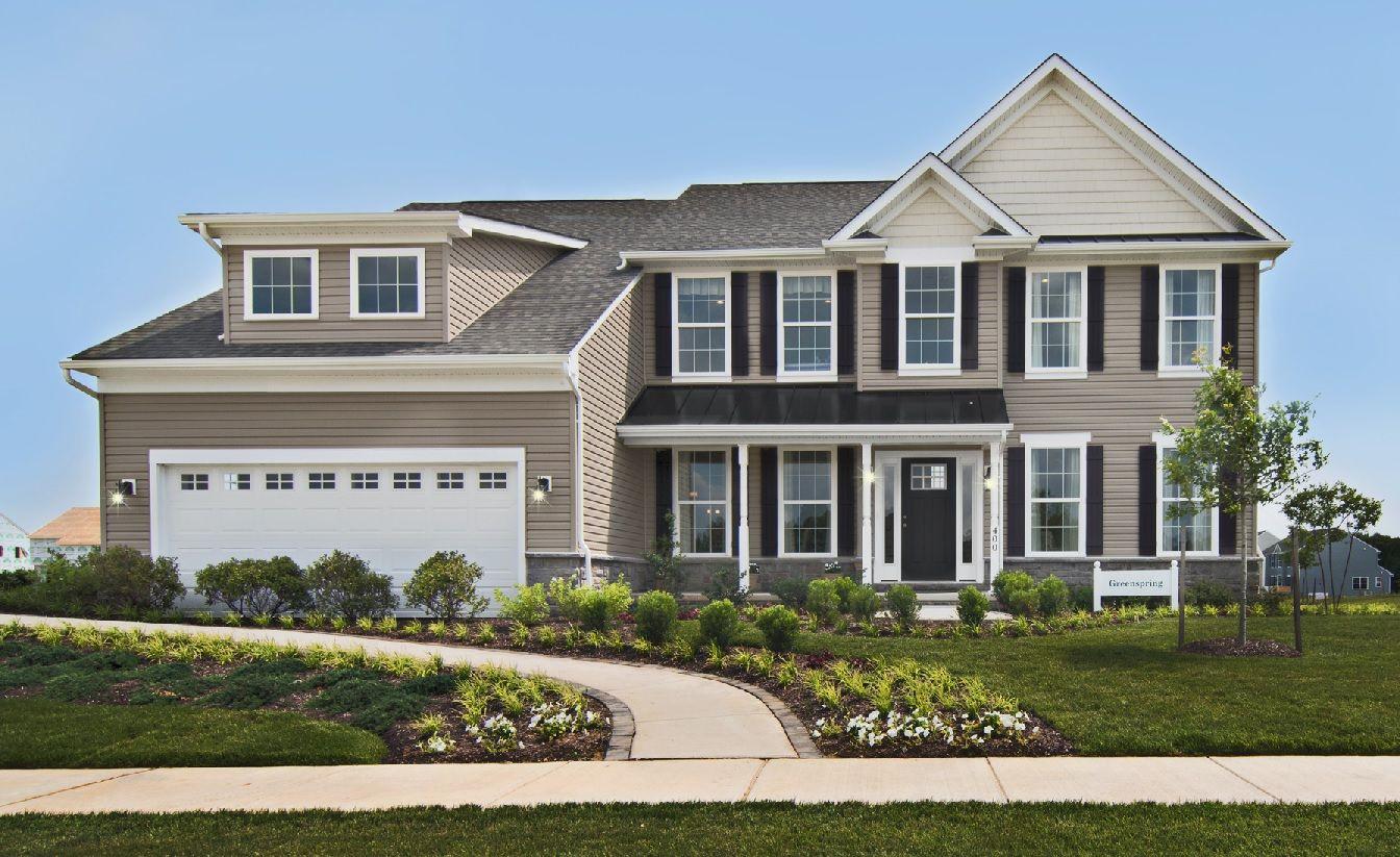 Exterior featured in the Greenspring By Benchmark Builders in Wilmington-Newark, DE