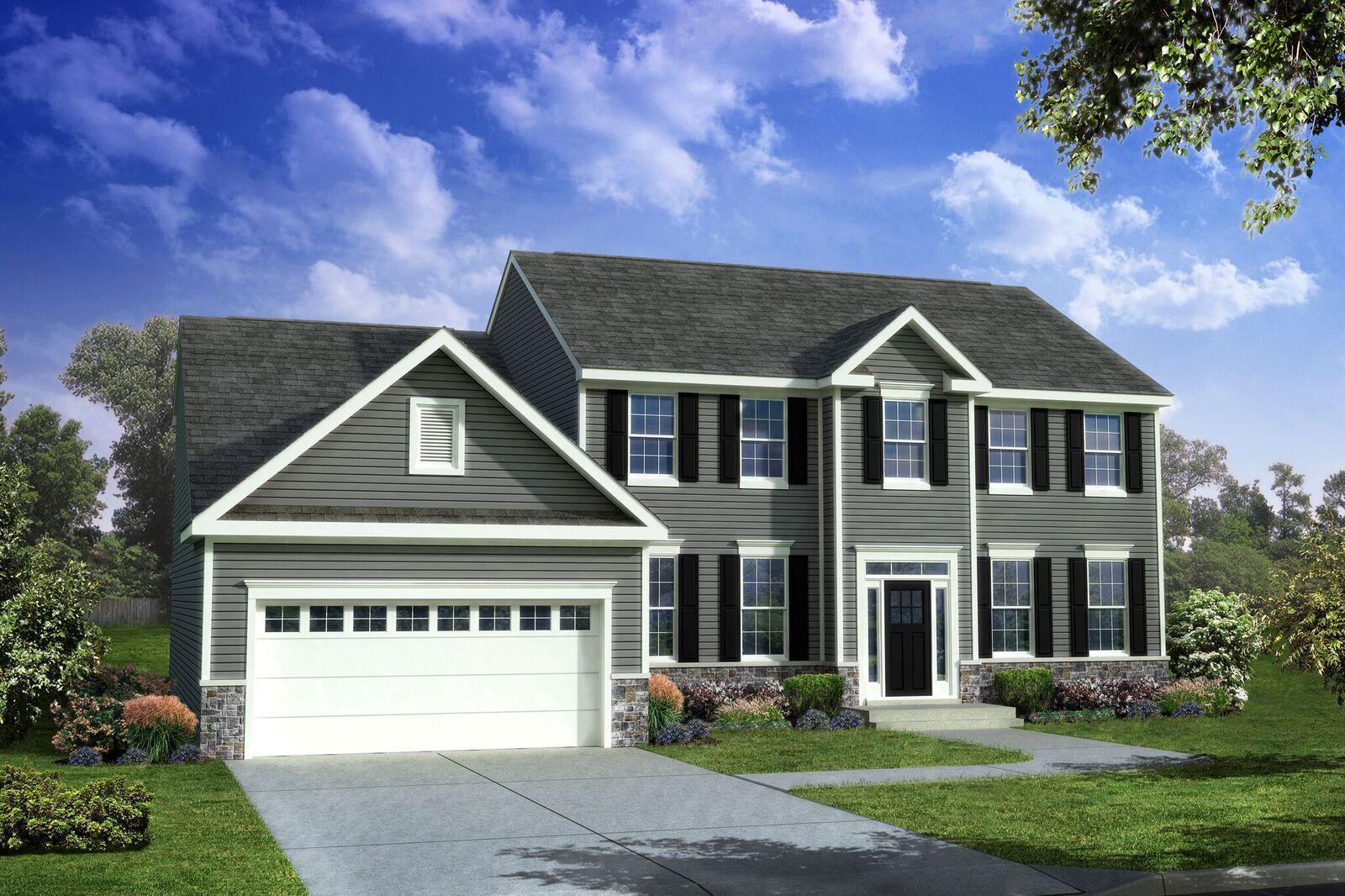 Exterior featured in the Eden II By Benchmark Builders in Wilmington-Newark, DE