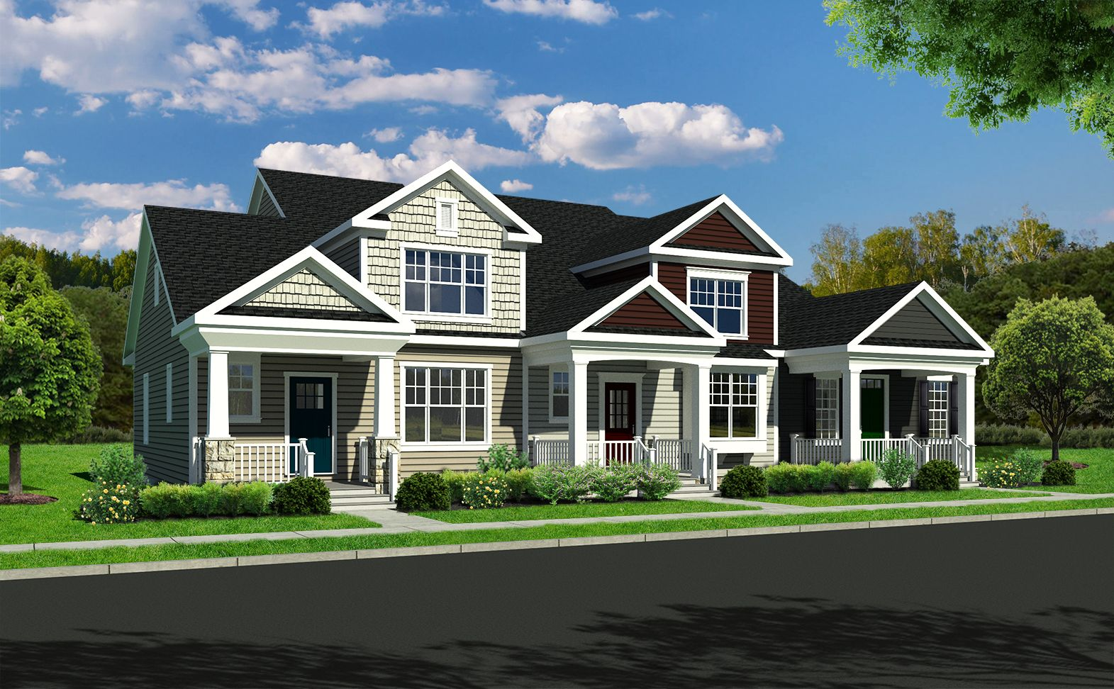 Exterior featured in the Annandale By Benchmark Builders in Wilmington-Newark, DE