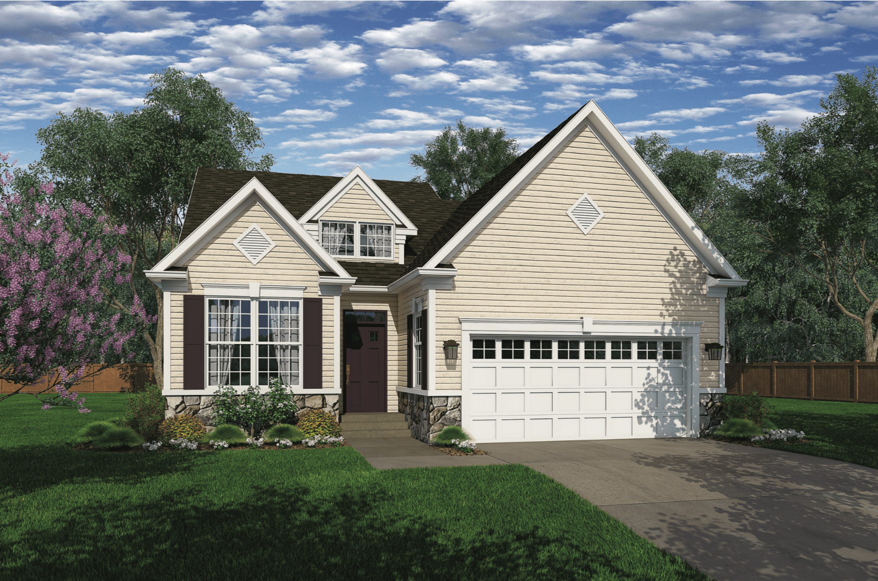 Exterior featured in The Bayard Classic By Benchmark Builders in Dover, DE