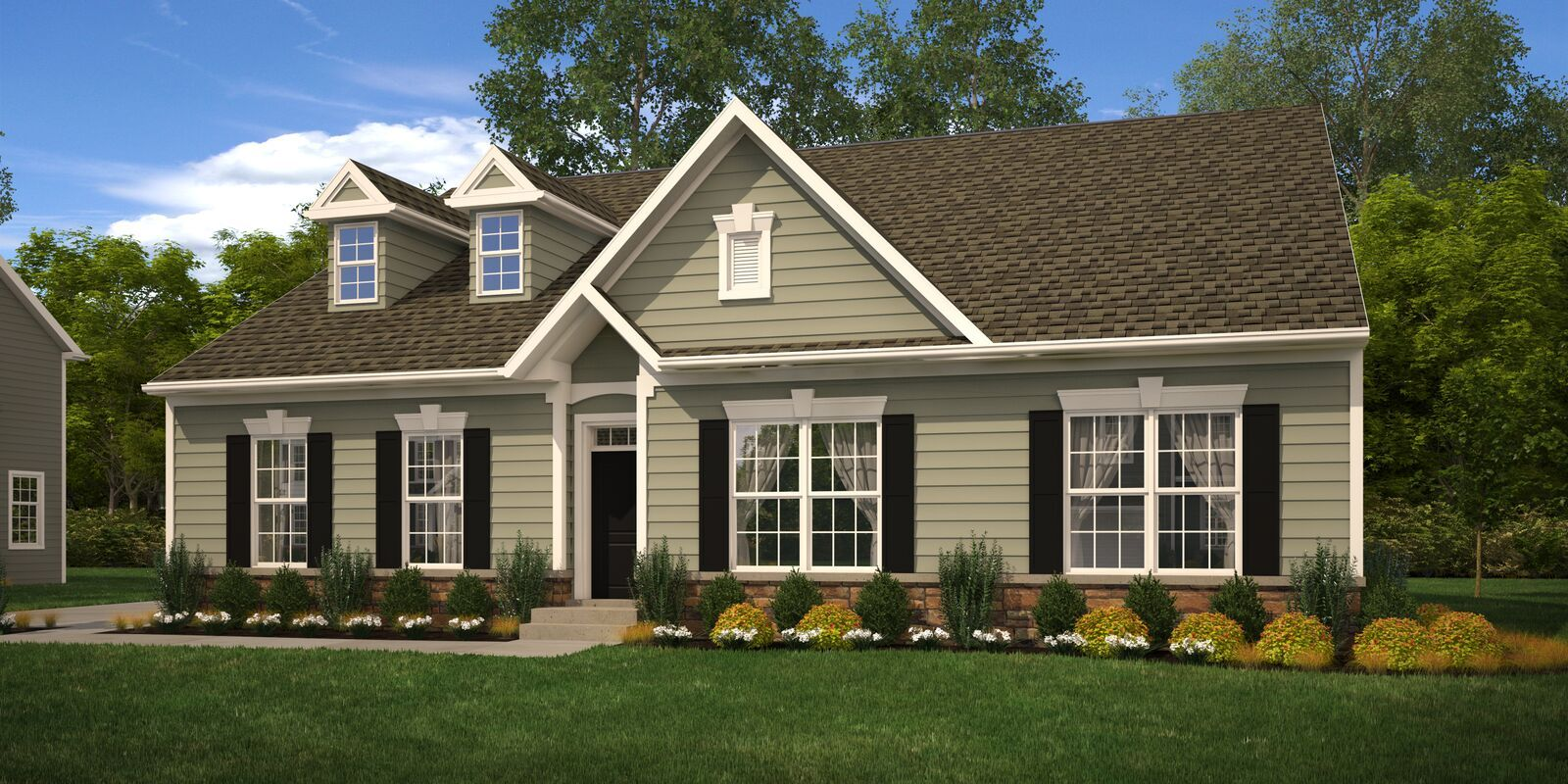 Exterior featured in the Armstrong By Benchmark Builders in Wilmington-Newark, DE