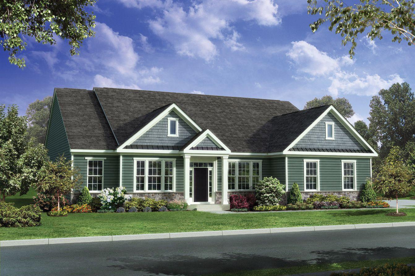Exterior featured in the Grandview By Benchmark Builders in Wilmington-Newark, DE