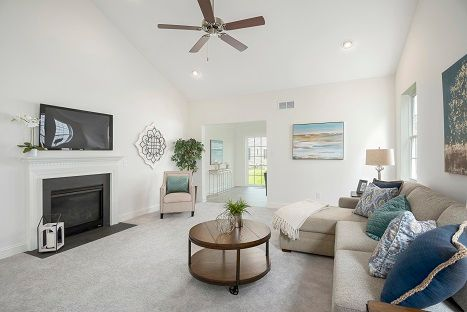 Living Area featured in The Aston By Benchmark Builders in Dover, DE