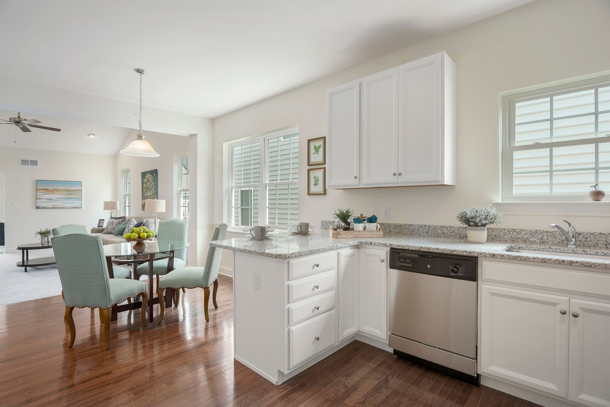 Kitchen featured in The Aston By Benchmark Builders in Dover, DE