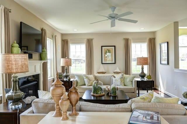 Living Area featured in The Eden By Benchmark Builders in Dover, DE