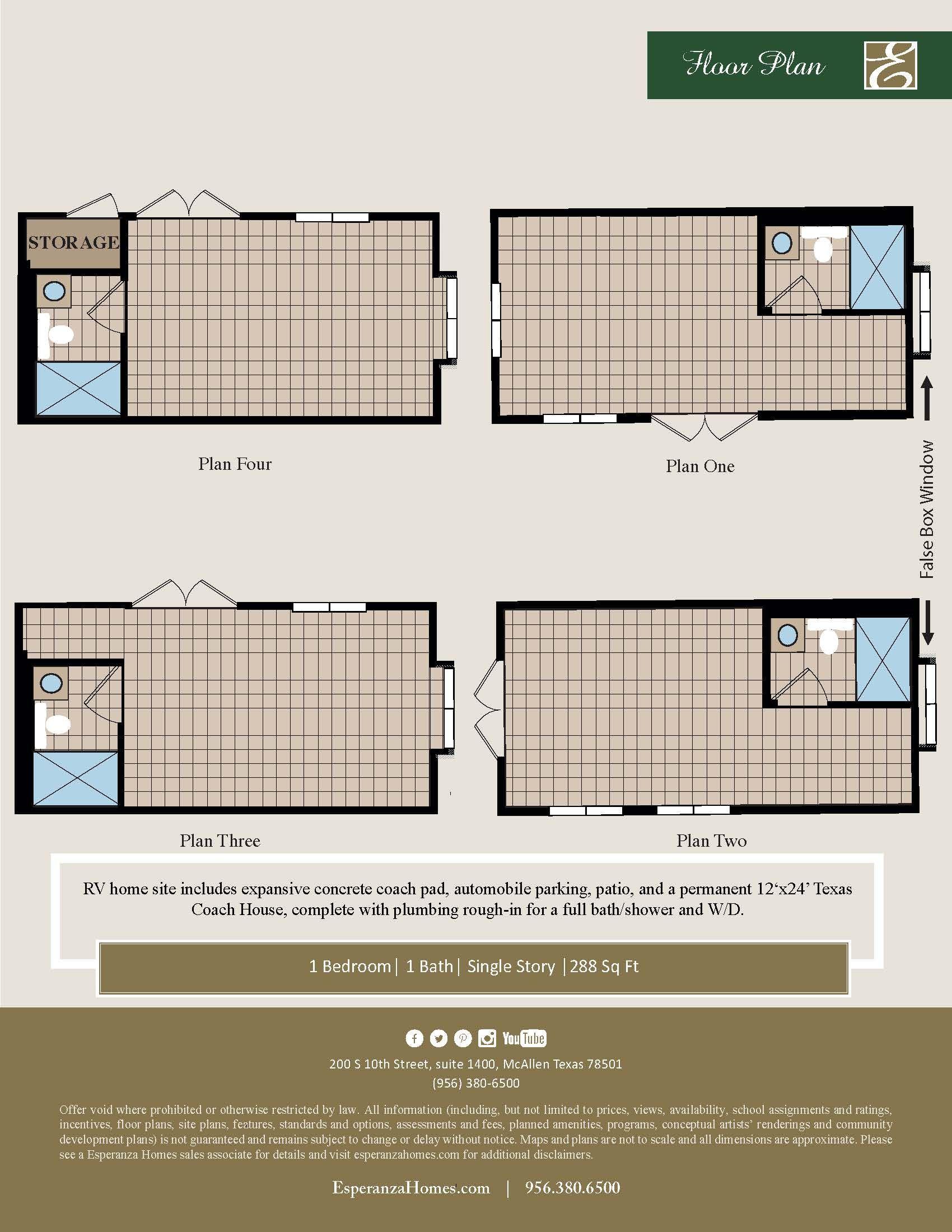 rv coach house plan mission texas 78572 rv coach house plan at retama village at bentsen palm by bentsen palm by esperanza home - Coach House Floor Plans