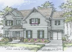 The Brooks C - Ellis: Marietta, Georgia - Bercher Homes