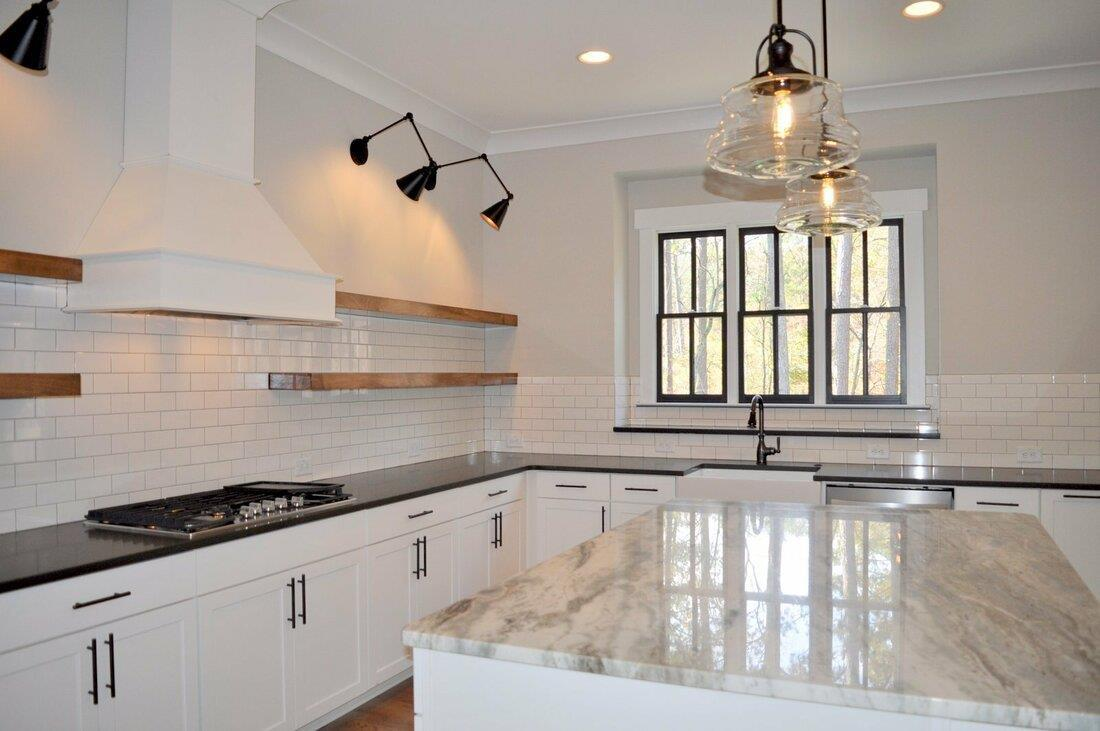 Kitchen featured in The Oxford A By Bercher Homes in Atlanta, GA