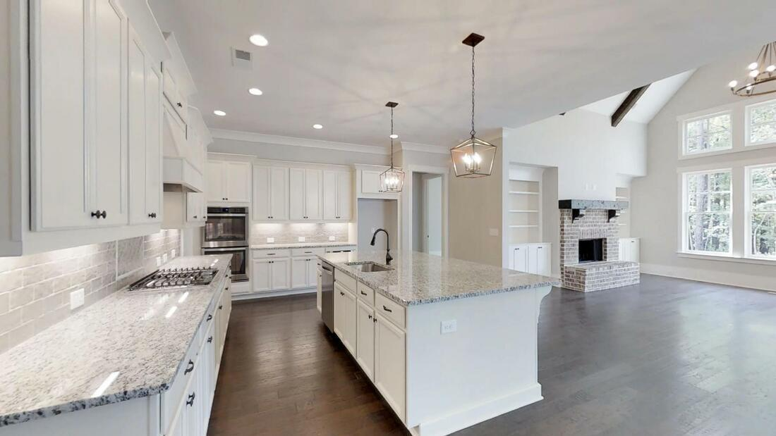 Kitchen featured in The Evans A By Bercher Homes in Atlanta, GA