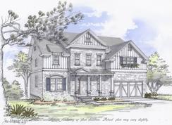 The Columbus B - Becketts Walk: Acworth, Georgia - Bercher Homes