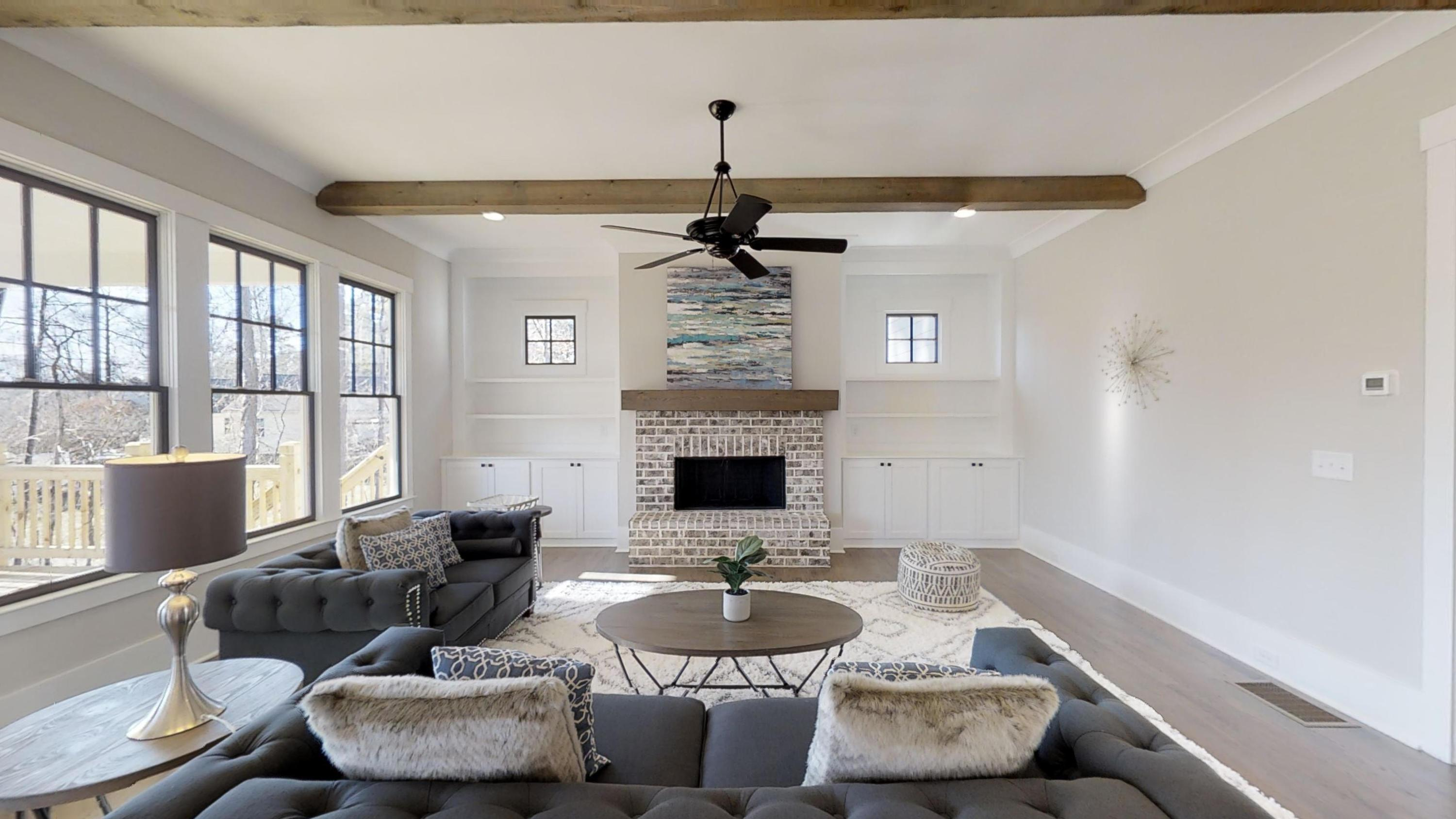 Living Area featured in The Brooks A By Bercher Homes in Atlanta, GA