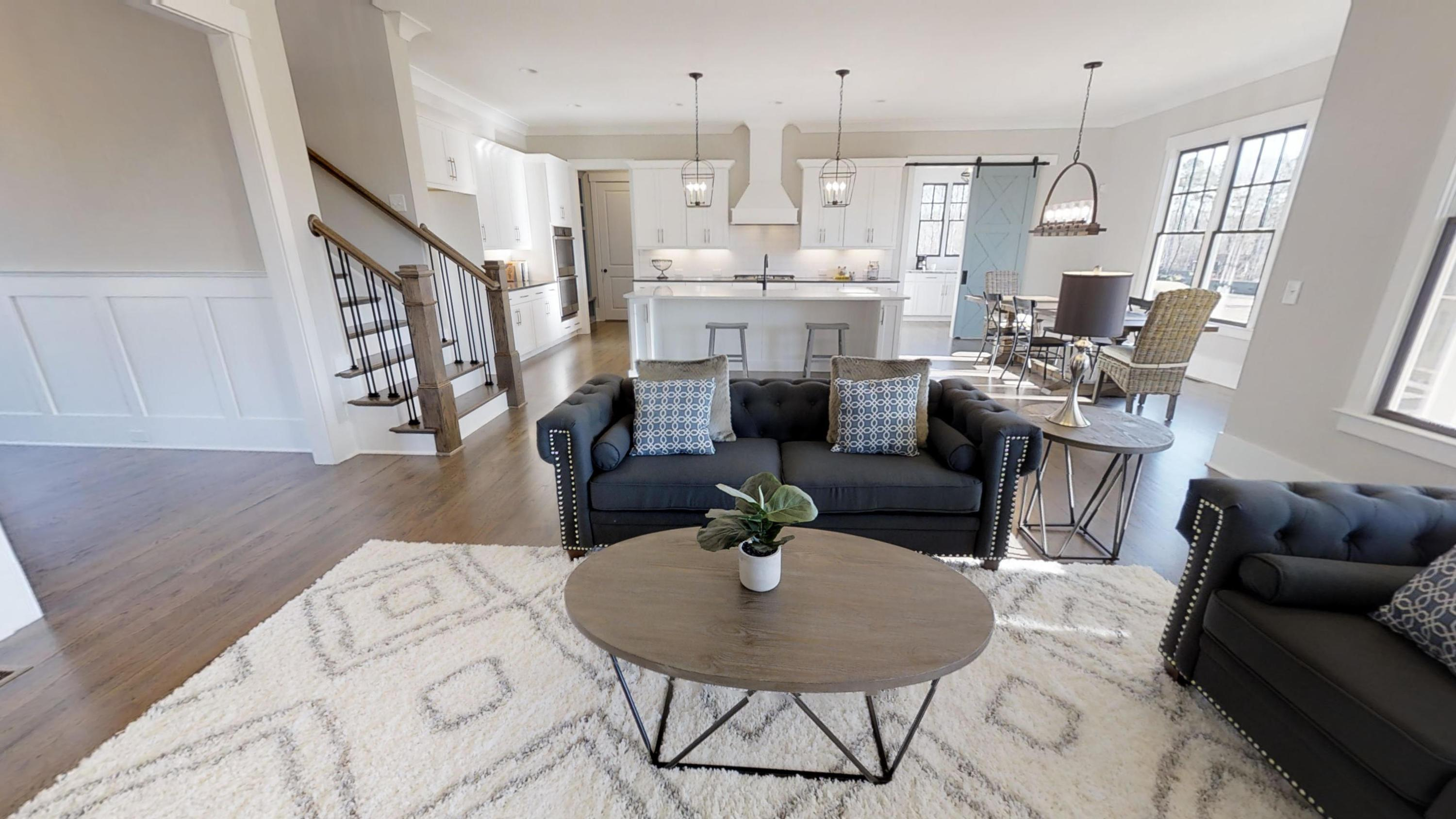 Living Area featured in The Brooks C By Bercher Homes in Atlanta, GA
