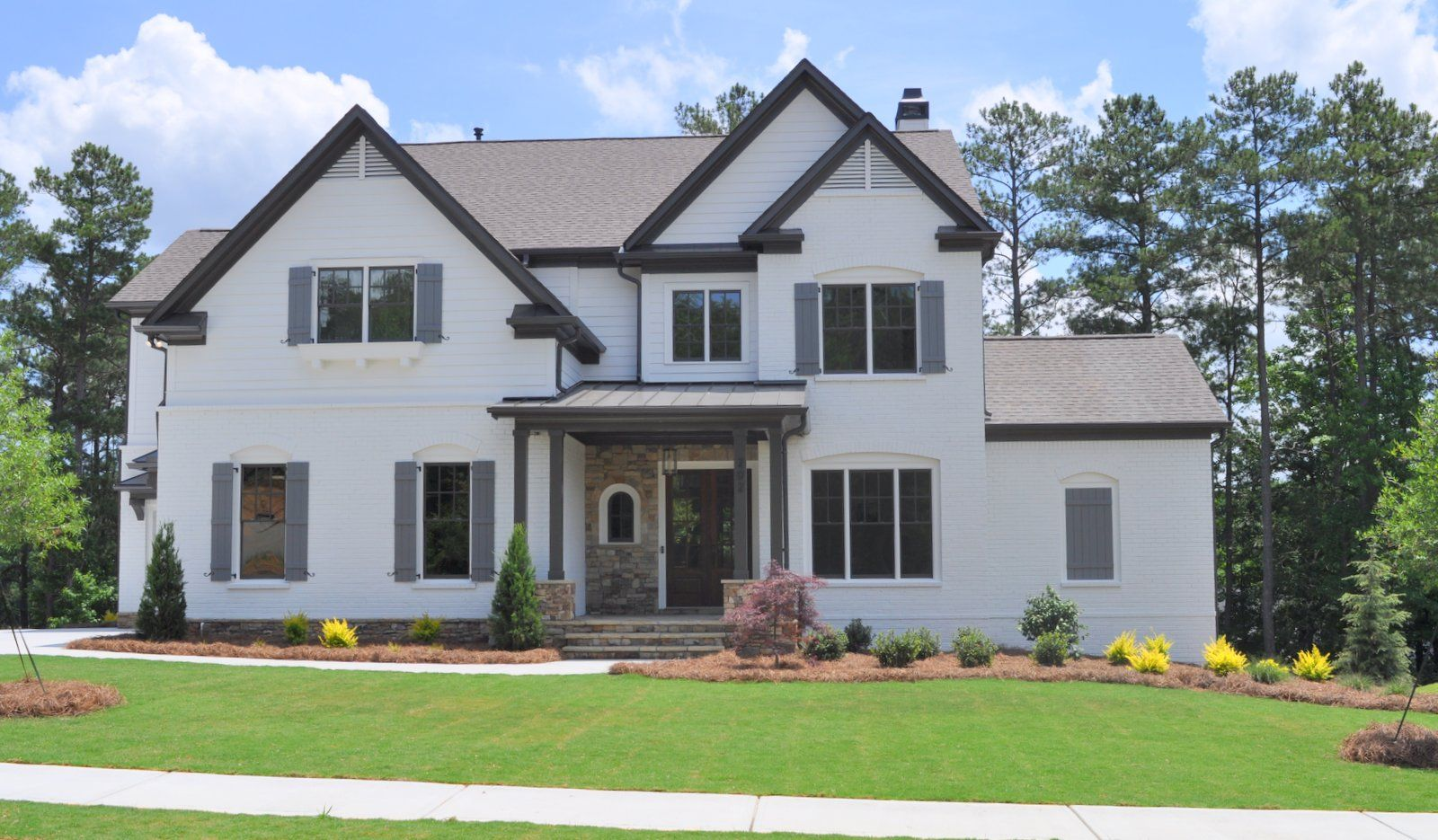 Exterior featured in The Brooks A By Bercher Homes in Atlanta, GA