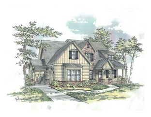 The Evans D - Ward Mills Farm: Powder Springs, Georgia - Bercher Homes