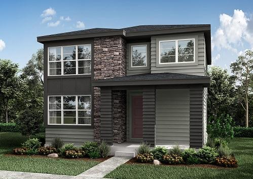 Exterior featured in the Residence 1 By Berkeley Homes in Denver, CO