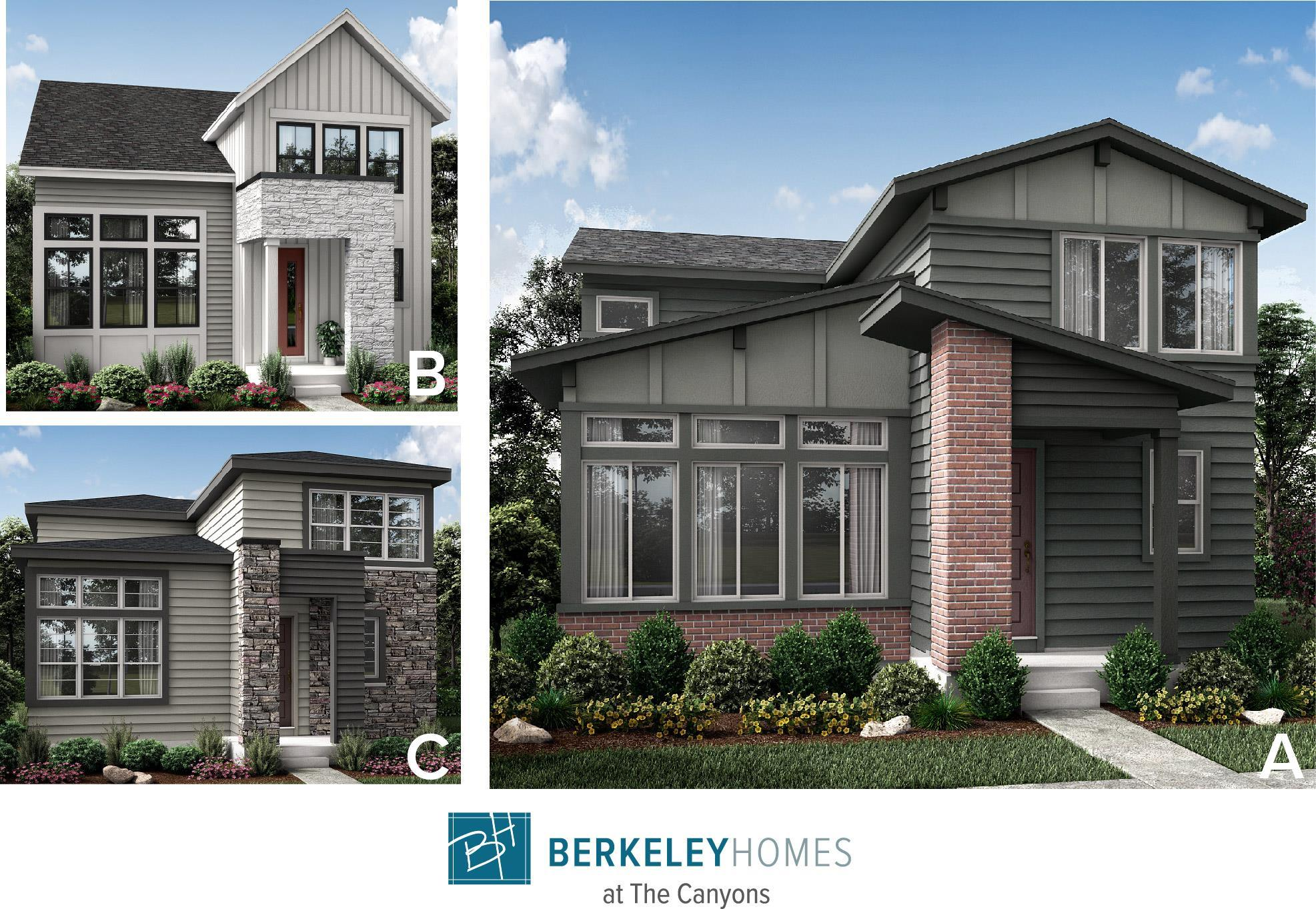 Exterior featured in the Residence 3 By Berkeley Homes in Denver, CO