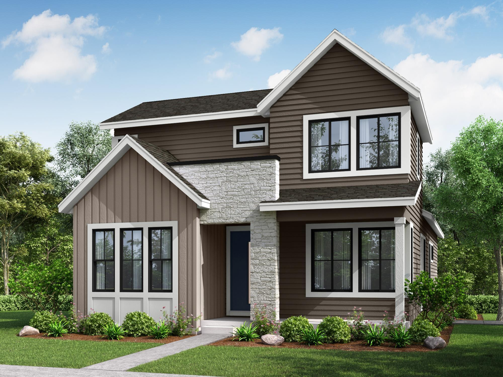 Exterior featured in the Residence 5 By Berkeley Homes in Denver, CO