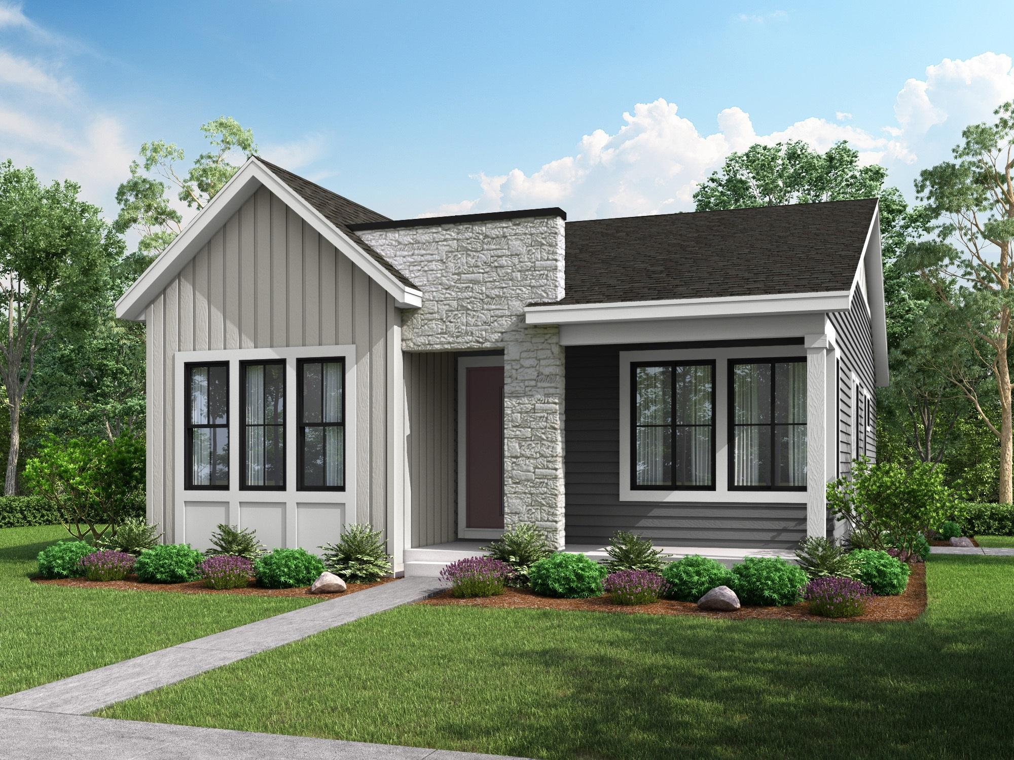 Exterior featured in the Residence 6 By Berkeley Homes in Denver, CO