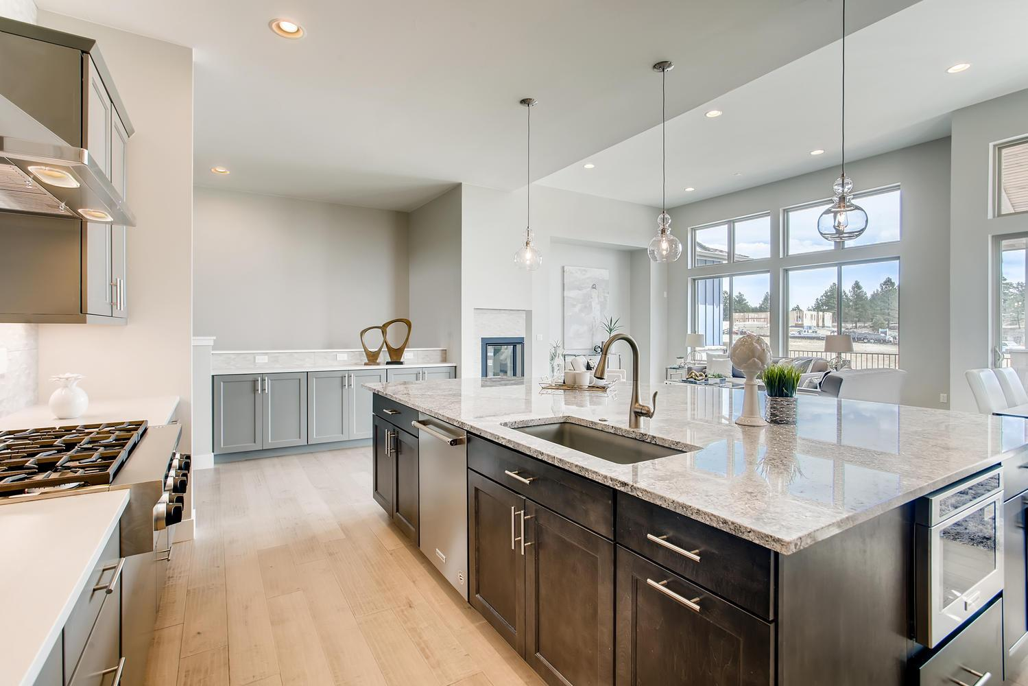 Kitchen featured in the Residence Two By Berkeley Homes in Denver, CO