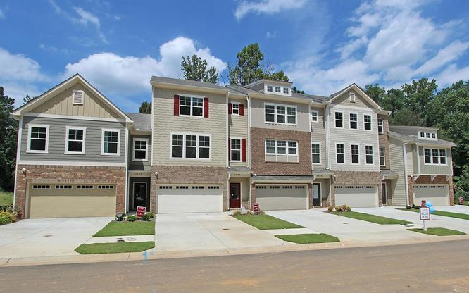 White Oak At East Lake in Decatur GA New Homes Floor Plans by – Venture Homes Floor Plans