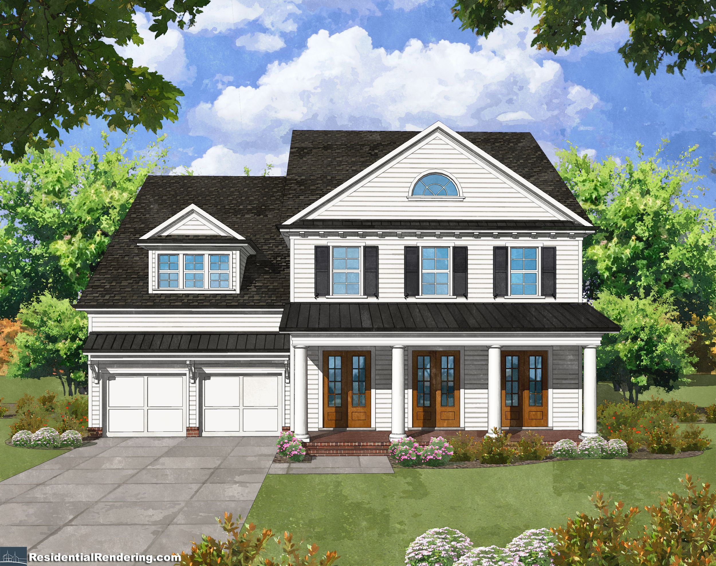 Exterior featured in The Hillandale By Patrick Malloy Communities in Atlanta, GA