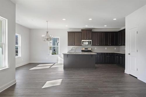Kitchen-in-The Lakewood  Heatherland Homes-at-Marvelle-in-Marietta