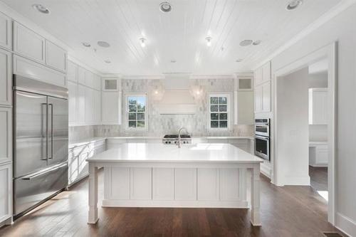 Kitchen-in-West Main Plan F-at-West Main Townhomes-in-Alpharetta