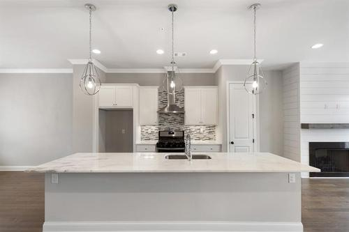 Kitchen-in-The Kingsley-at-Gates at King Springs-in-Smyrna