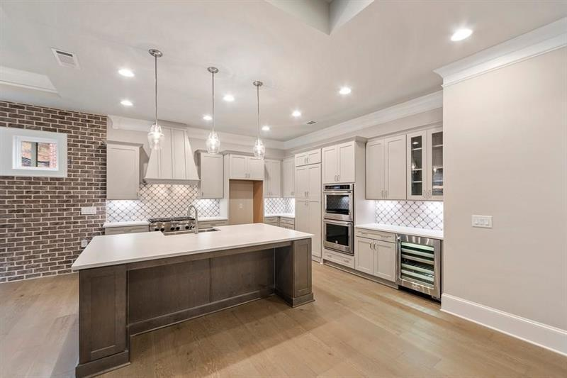 Kitchen-in-The Tierney-at-Hillandale-in-Roswell