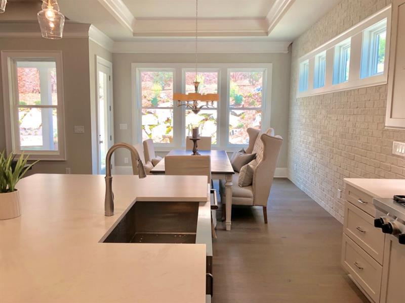 Kitchen-in-The Windham-at-Hillandale-in-Roswell