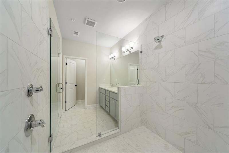 Bathroom-in-The Kingsley-at-Gates at King Springs-in-Smyrna