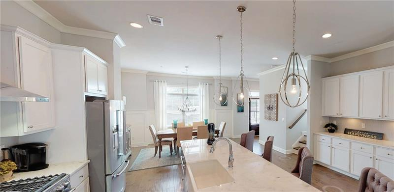 Kitchen featured in The Kingsley By Waters Edge Group in Atlanta, GA